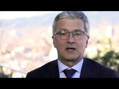 Audi Urban Future Initiative - Rupert Stadler | AutoMotoTV