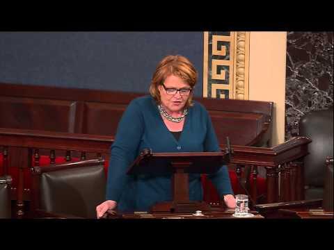 Heitkamp Shares Heroic Story of Engineer During Casselton Derailment on Senate Floor