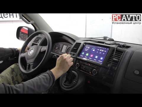Volkswagen Caravelle - установка Android-мультимедиа и камеры заднего вида