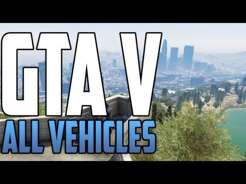 GTA V - All Vehicles Trailer 2!