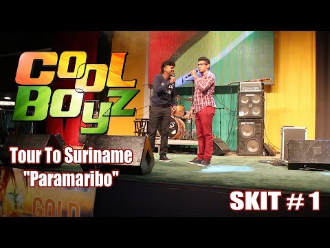 "CoolBoyz Tour To Suriname ""Paramaribo'' Skit#1 (Caribbean Comedy 2018)"