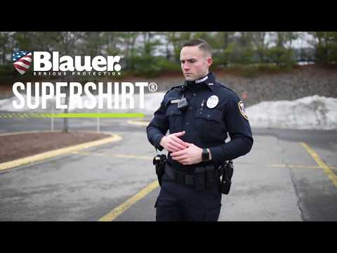 Less intimidating law enforcement uniforms
