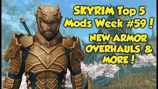 Skyrim Remastered Top 5 Mods of the Week #59 (Xbox One Mods)
