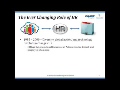 Getting Started with Workforce Analytics for HR Business Partners and OD Professionals
