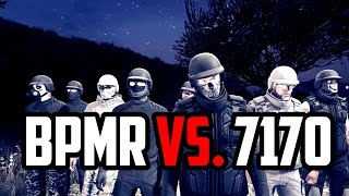 GTA Online Team Deathmatch   Crew Battle : BPMR vs 7170