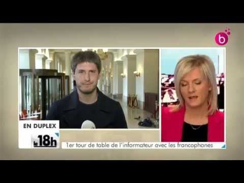 Rencontre Elio Di Rupo - Bart De Wever.