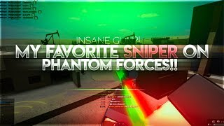 MY FAVORITE SNIPER RIFLE ON PHANTOM FORCES!! (ROBLOX..)
