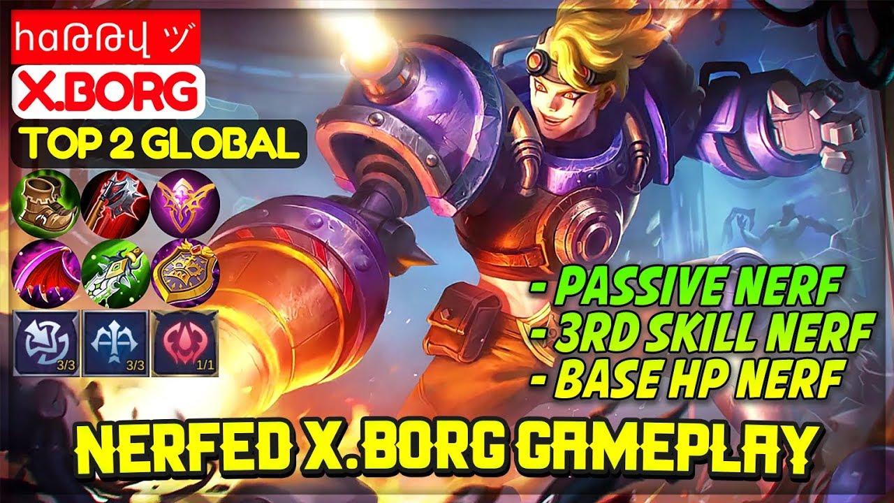 20 x borg best build mobile legends   Mobile Legends Best