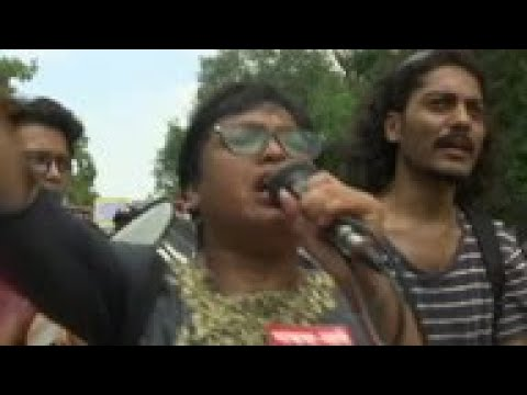Protests in India against Kashmir status change