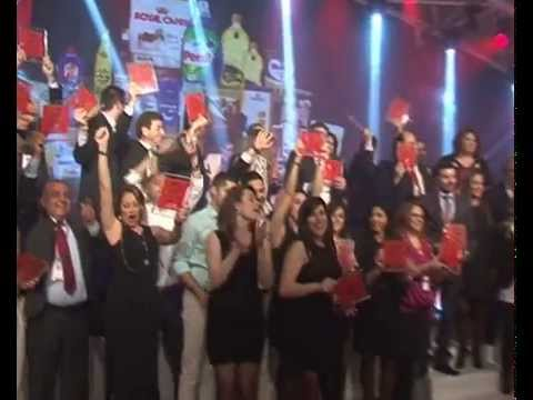 The Product Of the Year Lebanon Award Night 2014 - LBC TV Release
