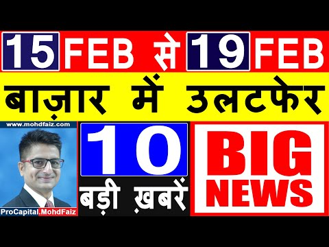 LATEST SHARE MARKET NEWS TODAY IN HINDI | LATEST STOCK MARKET NEWS | LATEST STOCK MARKET VIDEOS