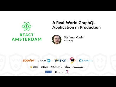 A Real-World GraphQL Application in Production - Stefano Masini