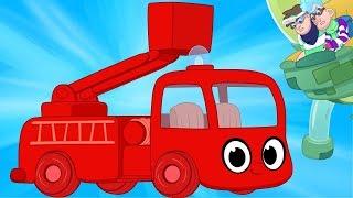 My Red Fire Truck & The Glue Bandits!   My Magic Pet Morphle #49
