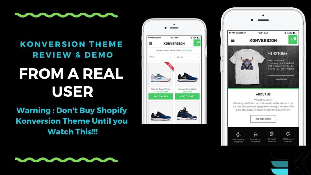 Konversion Theme Review From Real User-Best Shopify Theme