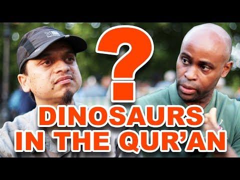 Speakers' Corner: Dinosaurs in the Qur'an?   bro Mansur & Preston