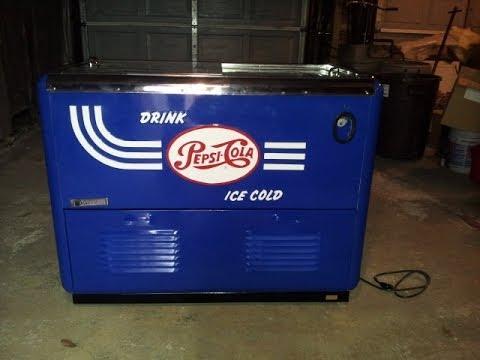 1950's Pepsi Quikold Cooler Restoration