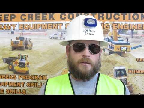 Heavy Equipment Operator Video Resume Josh Shaw