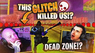 THERE'S A DEADZONE GLITCH IN FORTNITE?! FT. DRLUPO, JORDAN FISHER & FEARITSELF