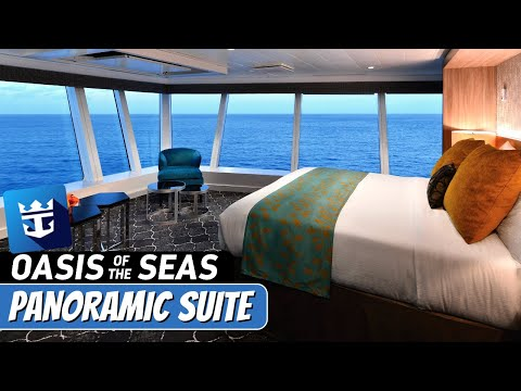 Royal Caribbean Oasis of the Seas | Ultimate Panoramic Suite Complete Walkthrough Tour & Review 4K