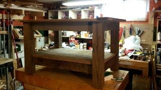 Reclaimed Barn Wood Coffee Table -- Brian's Workshop