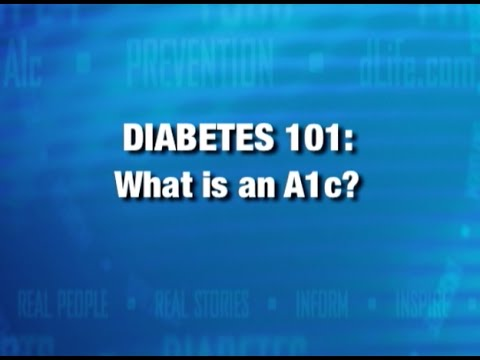 What Is An A1C?