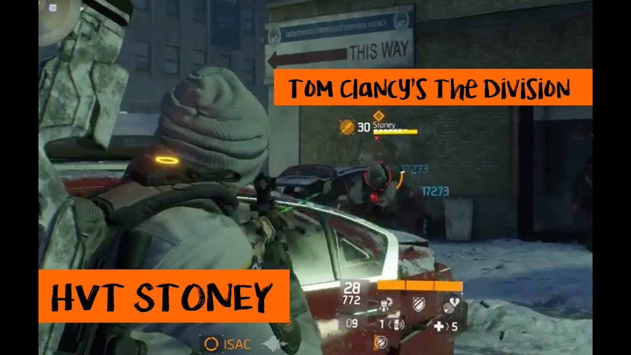 Tom Clancys The Division - HVT Stoney - Patch 1.2 - YouTube