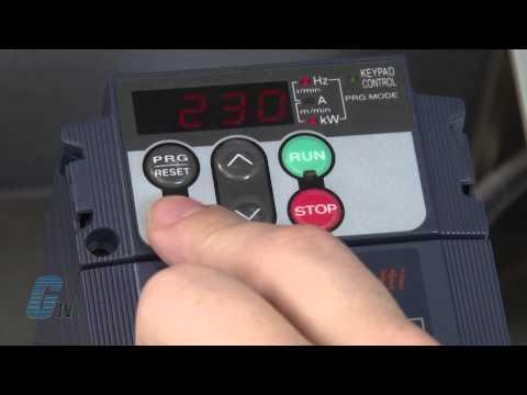 Fuji Electric Frenic Multi Series AC Drive Basic Start Up Using the Keypad