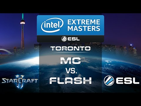 MC vs. Flash (PvT) - IEM Toronto 2014 - Group D Decider - StarCraft 2