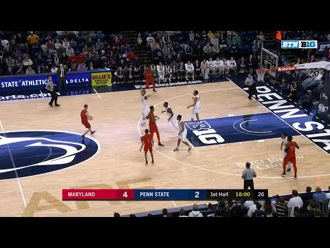 Big Ten Basketball Highlights: Maryland at Penn State