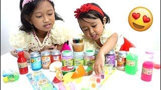 Slime Collection  💖  Apa aja ya Koleksi Slime Jessica Jenica.....??? 💖 Mainan Anak