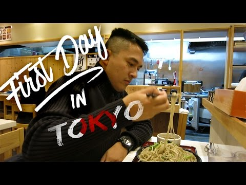 HOW TO TRAVEL ASIA ON $5000 - Ep.1 | FIRST DAY IN TOKYO