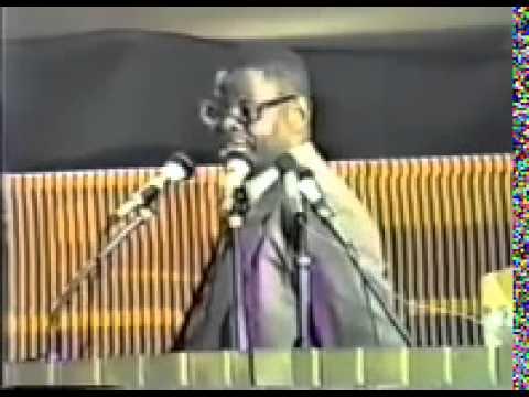 Dr. Yosef Ben-Jochannan: The Black Man Must Wake Up