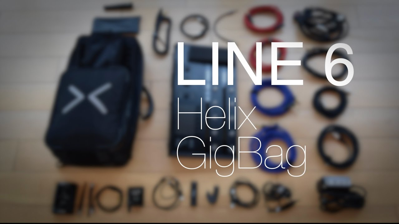 661d7e2dd3 Line 6 Helix Backbag Case - what's in my gig bag? - YouTube