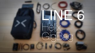 Line 6 Helix Backbag Case - what's in my gig bag?