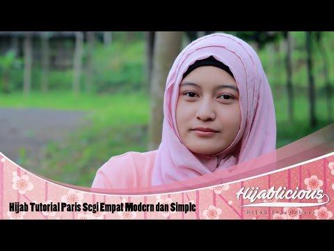 Hijab Tutorial Paris Segi Empat Modern dan Simple Ala Laudya Cynthia Bella l Trend Hijab 2018.