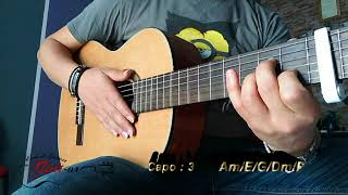 Lamouni li gharou meni - جيتار - لاموني إلي غارو مني - Guitare Cover - Mélodie - Accords