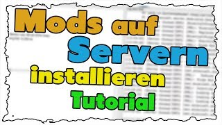 Minecraft Mods auf Servern installieren 1.8 - Tutorial [Deutsch|Einfach]