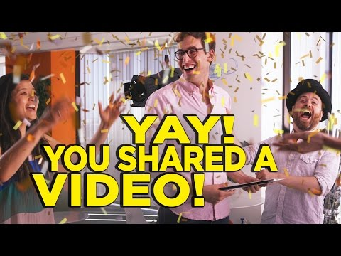 What You Hope Happens When You Share a YouTube Video