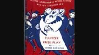 Of Thee I Sing Gershwin--Richard Holmes