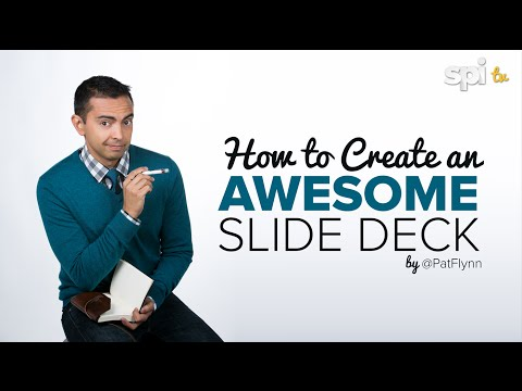 How to Create an Awesome Slide Presentation (for Keynote or