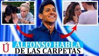 Alfonso desmiente las carpetas de OT 2018 pero con matices, tras su salida de Operación Triunfo
