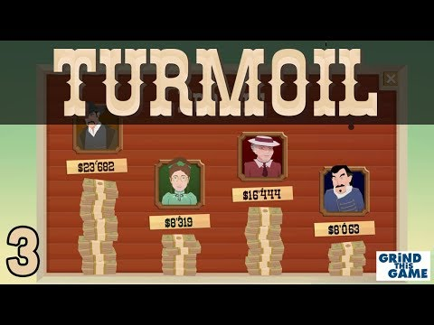 TURMOIL #3 - Oil Drilling Game - TWO GOOD HAULS in the Desert Biome