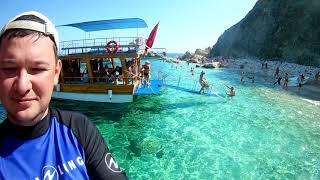 Турция Экскурсия на лодке на остров Сулуада или Турецкие Мальдивы