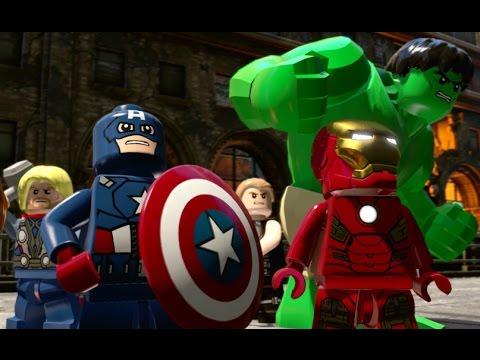 LEGO Marvel's Avengers Walkthrough Part 6 - Avengers Assemble