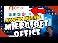 Gambar cover HOW TO INSTALL MICROSOFT OFFICE | TAGALOG FULL TUTORIAL