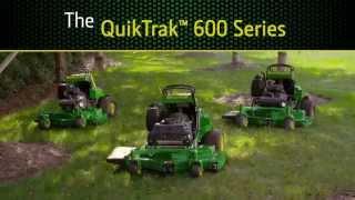 John Deere QuikTrak™: The stand-ons that stand apart.