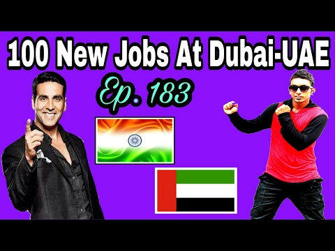 100 New Abroad Jobs At Dubai,With Good Salary,  Apply soon And Fast, Tips In Hindi