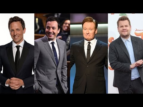 Thumbnail: Seth Meyers Conan O'Brien James Corden & Jimmy Fallon Emotionally Reflect on 2016 Election Results
