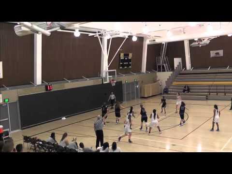 College of Marin Women's Basketball Vs Solano College 1/27/16