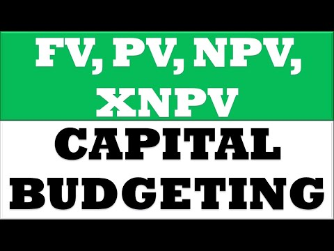 How to Calculate FV, PV, NPV, XNPV in MS Office Excel 2016